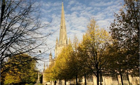 Biserica St. Mary Redcliffe din Bristol