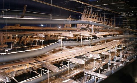 Nava Amiral Mary Rose din Portsmouth