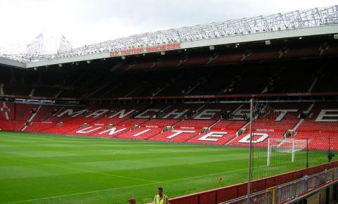Stadionul Old Trafford din Manchester