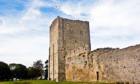 Castelul Portchester din Portsmouth