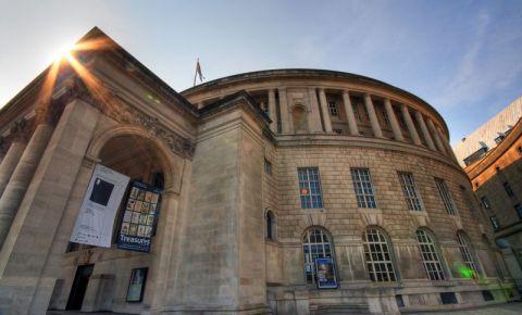 Biblioteca si Galeria Portico din Manchester