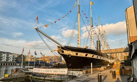 Nava-Muzeu SS Great Britain din Bristol