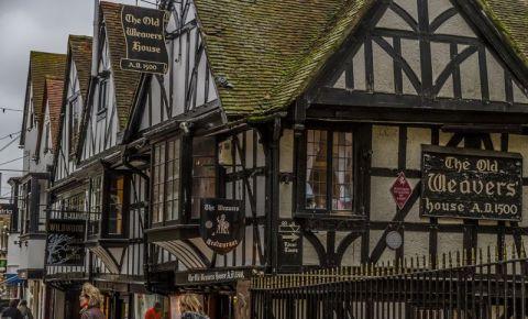 Casele Vechilor Tesatori din Canterbury