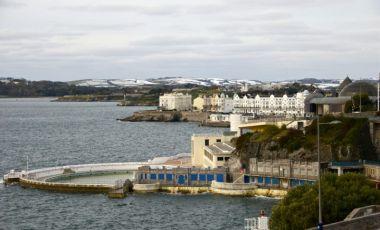 Esplanada Hoe din Plymouth