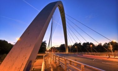Podul Futuristic din Manchester