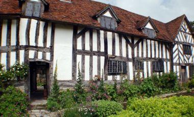 Casa Mary Arden din Stratford-upon-Avon