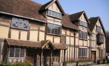 Casa Memoriala William Shakespeare din Stratford-upon-Avon