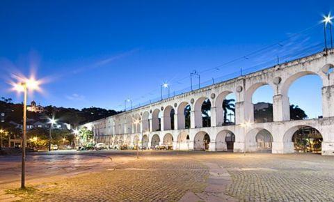 Apeductul Arcos da Lapa din Rio de Janeiro