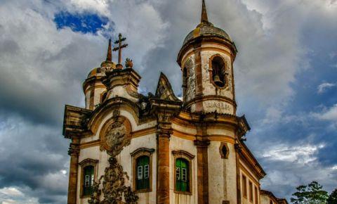 Biserica Sf Francisc din Ouro Preto