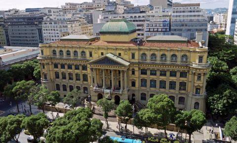 Biblioteca Nationala din Rio de Janeiro