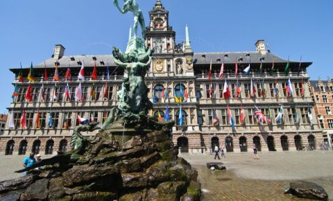 Fantana Brabo din Anvers