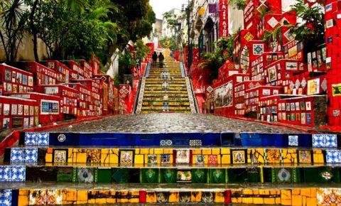 Scarile Selaron din Rio de Janeiro