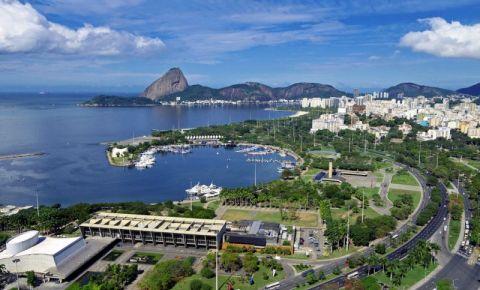 Parcul Flamengo din Rio de Janeiro