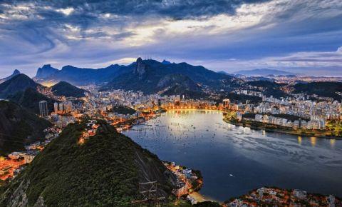 Panorama Pasmado din Rio de Janeiro