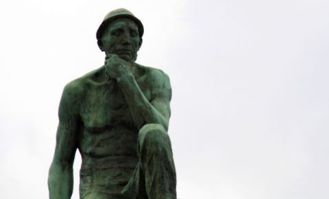 Statuia Minerului din Charleroi