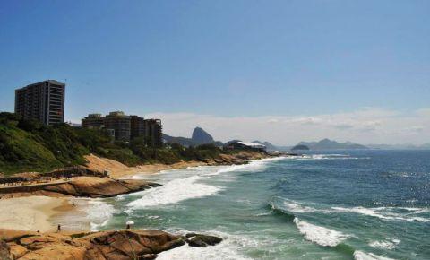 Stanca Ponta do Arpoador din Rio de Janeiro