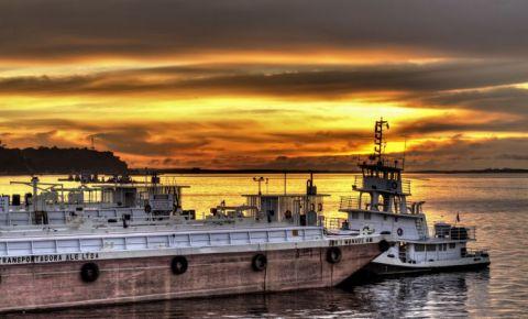 Portul Flutuante din Manaus