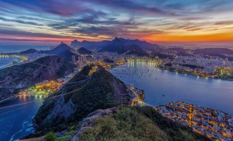 Laguna Rodrigo de Freitas din Rio de Janeiro