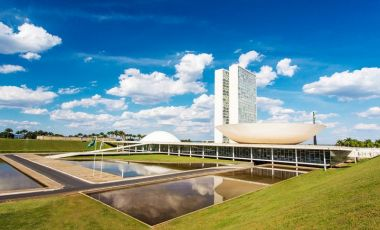 Congresul National din Brasilia