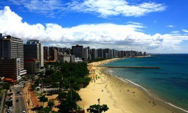 Plaja Praia do Futuro din Fortaleza
