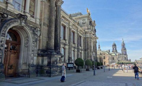 Terasa Bruhl din Dresda