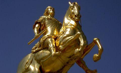Statuia Calaretul de Aur din Dresda
