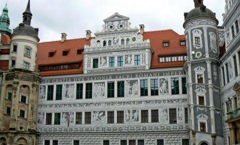 Palatul Regal din Dresda (curtea interioara)