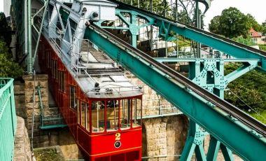 Funicularul Schwebebahn din Dresda