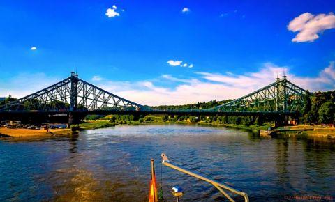 Podul Loschwitz din Dresda