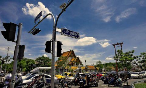 Strada Bamrung Meuang din Bangkok