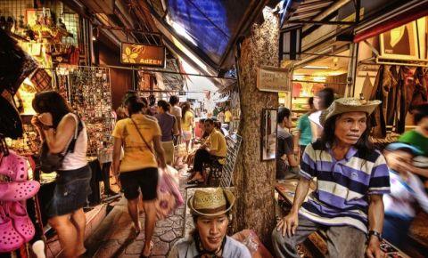 Piata Chatuchak din Bangkok