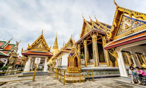 Palatul Chitralada din Bangkok