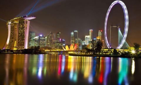 Roata Uriasa din Singapore