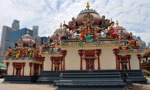 Templul Sri Mariamman din Singapore