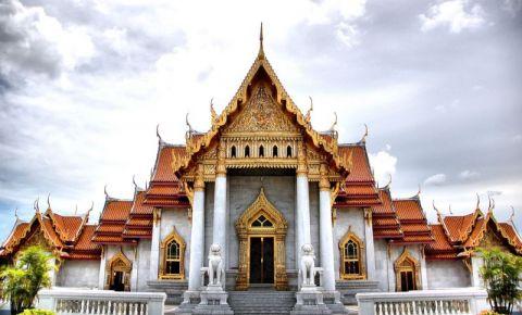 Templul de Marmura din Bangkok