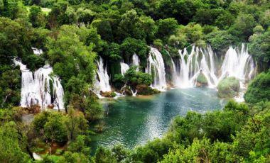 Cascada Kravice din Mostar