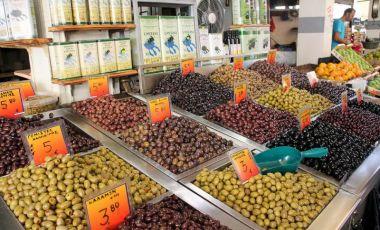 Piata Kapani din Salonic