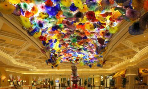 Hotelul Bellagio din Las Vegas (interior)