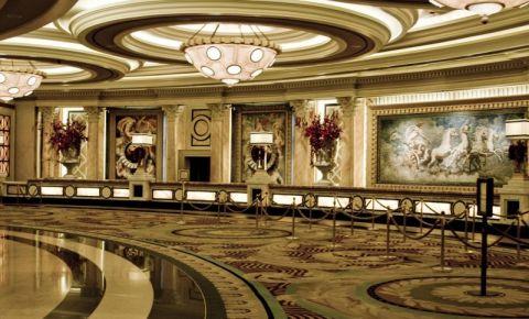 Complexul Caesars Palace din Las Vegas (interior)