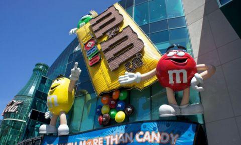 Cladirea Lumea M&M din Las Vegas
