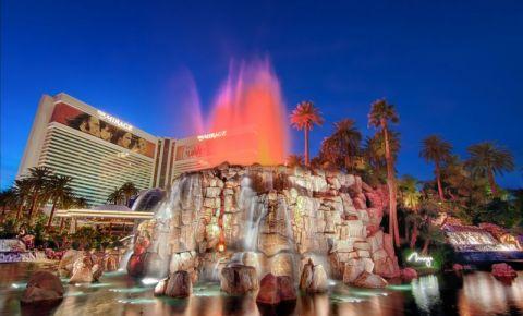 Mirage Volcano din Las Vegas