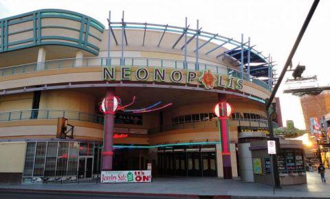 Complexul Neonopolis din Las Vegas