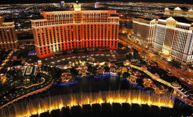 Complexul Bellagio din Las Vegas