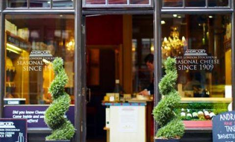 Restaurant Androuet - Londra
