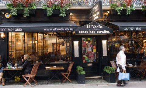 Restaurant El Pirata of Mayfair - Londra