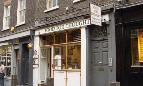 Restaurant Food For Thought - Londra
