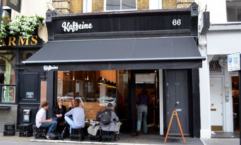 Restaurant Kaffeine - Londra