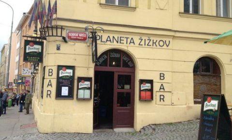 Restaurant Planeta Zizkov - Praga