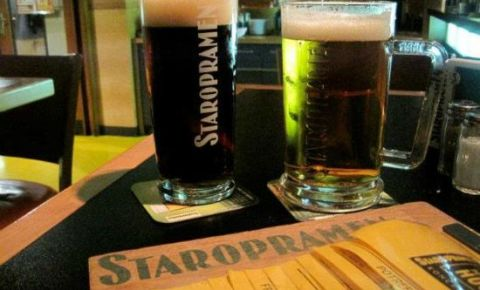 Restaurant Staropramen Brewery Restaurant - Praga