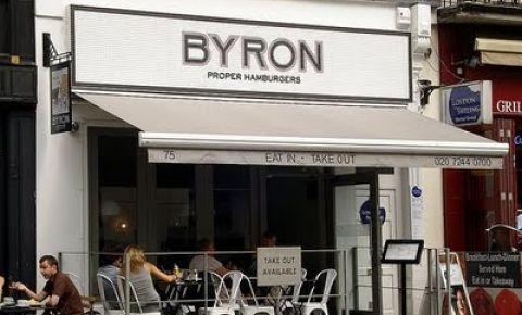 Restaurant Byron - Londra